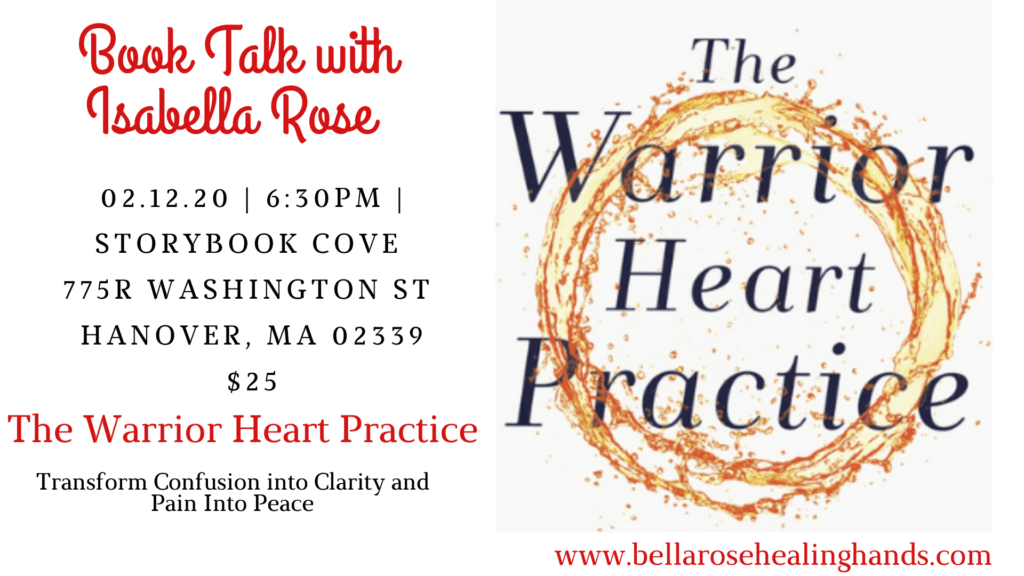 Warrior Heart Practice with Isabella Rose certified Warrior Heart Facilitator